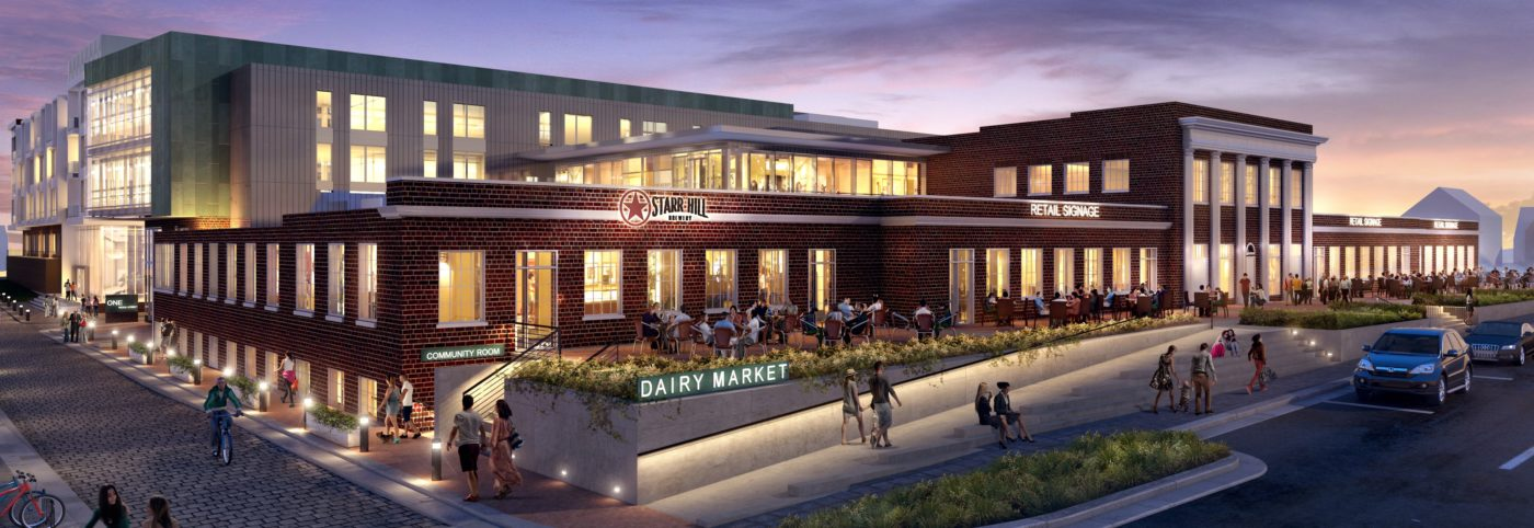 Dairy Market Building Drawing