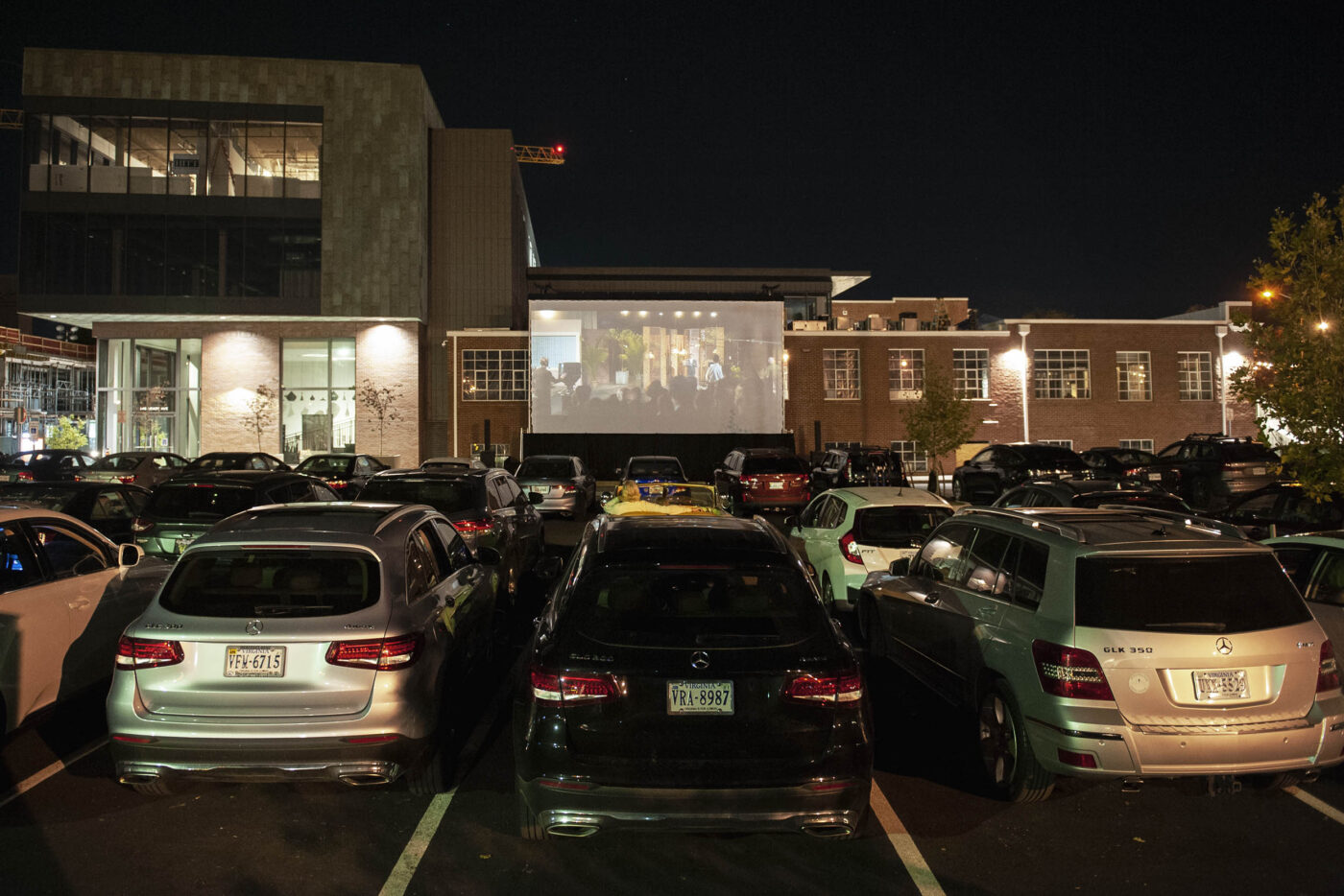 Cars at Dairy Market for VAFF Drive-In