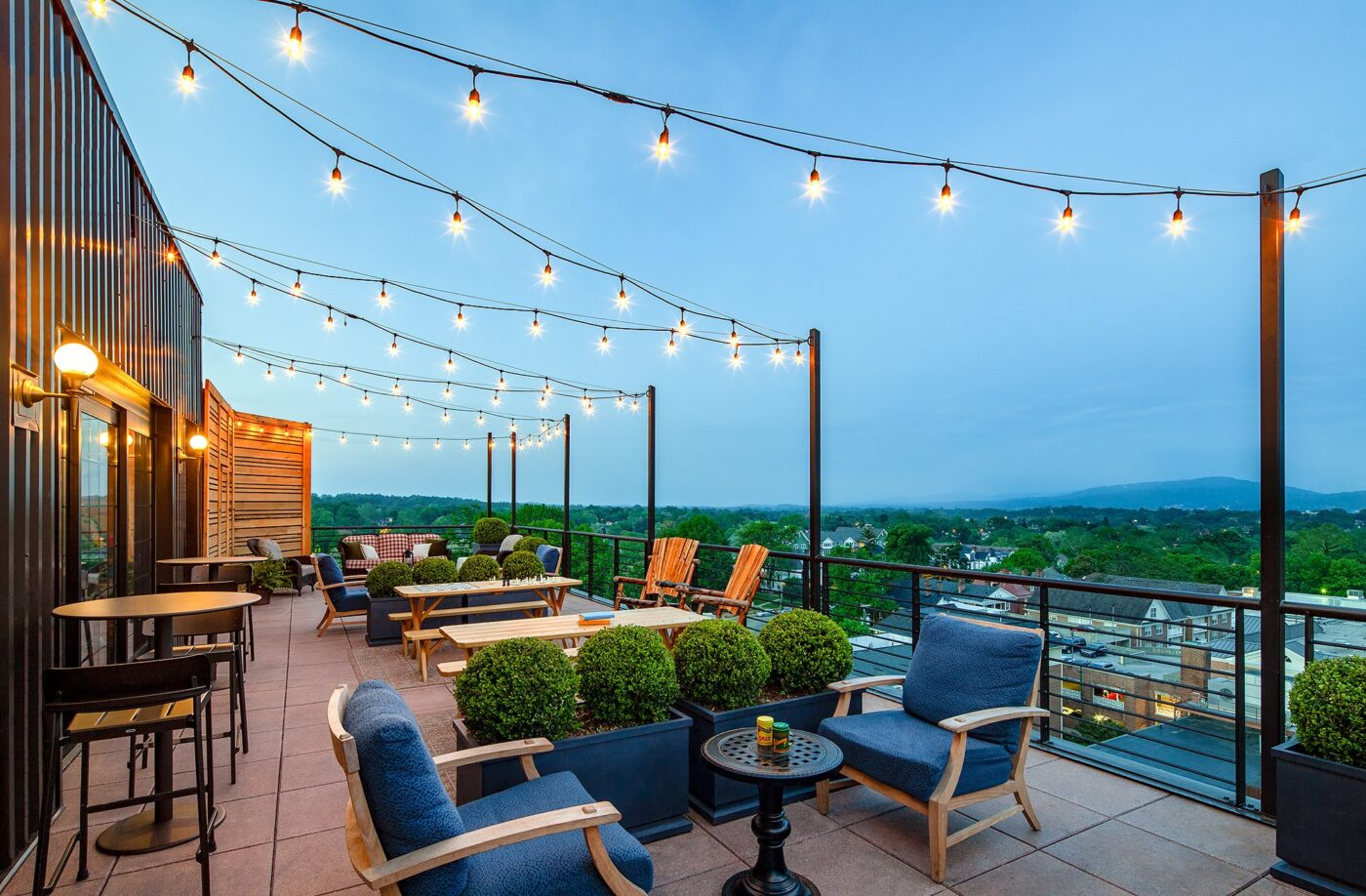 Rooftop Deck of The Graduate Hotel